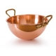 MAUVIEL 2191 - M'passion Collection - Copper Bowl for egg white with bronze handles