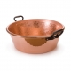 MAUVIEL 4403 - M'passion Collection - Hammered Copper Jam Pan with cast iron handles