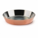 MAUVIEL 6551 - M'passion Collection - Copper Tatin tart mold stainless steel inside