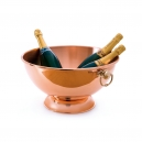 MAUVIEL 2702 - M'30 Collection - Copper Champagne bowl with bronze rings