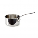 MAUVIEL 5210 - M'cook Collection - Stainless Steel Sauce Pan with cold cast stainless steel handle