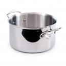 MAUVIEL 5231 - M'cook Collection - Stainless steel Stewpan with cold cast stainless steel handles