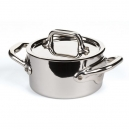 MAUVIEL 5131 - M'minis Collection - Mini Stainless Steel Stewpan with lid