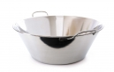 MAUVIEL 5945 - M'BASIC COLLECTION - SPLAYED BOWL STANLESS STEEL FOR INDUCTION