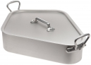 MAUVIEL 116.50 - M'tradition collection - Turbot kettle in aluminium with tin inside