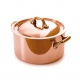 MAUVIEL 6522 - M'héritage Collection - Copper & stainless steel Stewpan, bronze handles