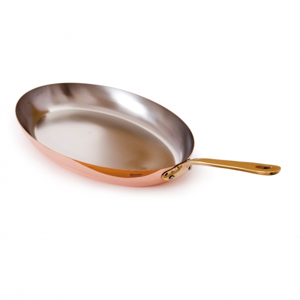 Oval Copper Frying Pan Mauviel